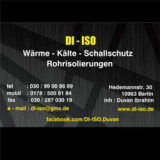 DI-ISO Rohrisolierung