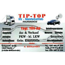 Tip-Top KfZ-Meisterbetrieb